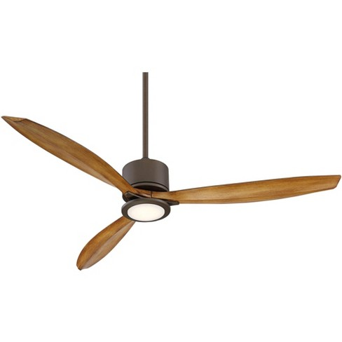 56 Casa Vieja Modern Tropical Outdoor Ceiling Fan With Light Led Remote Oil Rubbed Bronze Koa Damp Rated For Patio Porch Target
