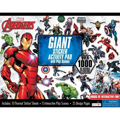 Marvel Avengers Giant Sticker Activity Pad