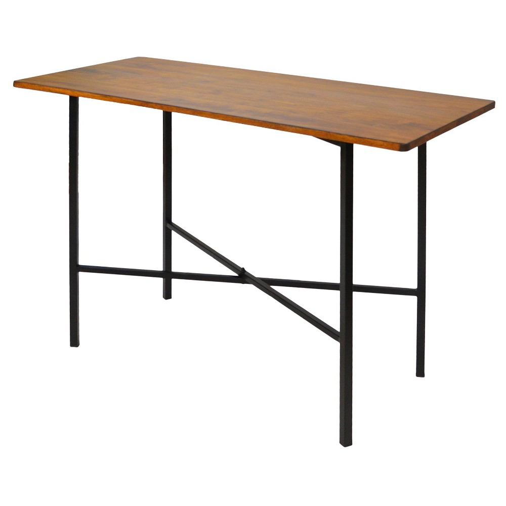Elmsley Rectangle Bar Table Chestnut (52