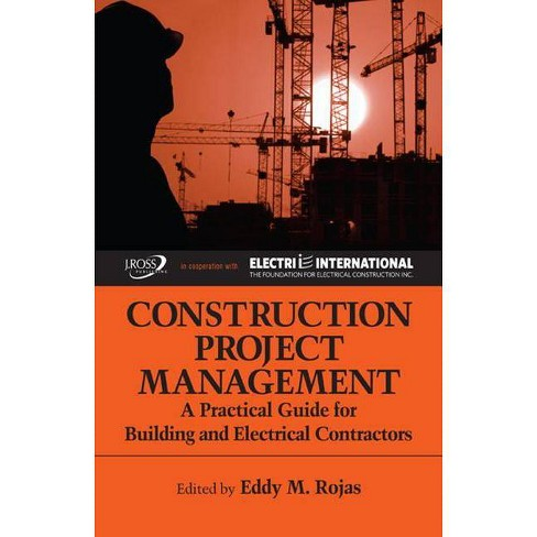 Construction Project Management - (Hardcover) - image 1 of 1