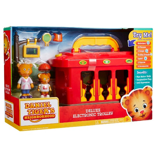 Daniel Tiger's Neighborhood Deluxe Electronic Trolley image number null