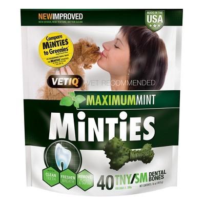 VetIQ Minties - Dental Dog Treat - Tiny/Small
