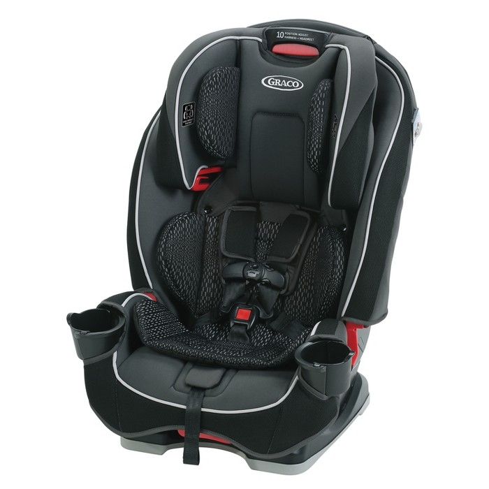 Graco Slim Fit 3-in-1 Convertible Car Seat - Camelot - image 1 of 11
