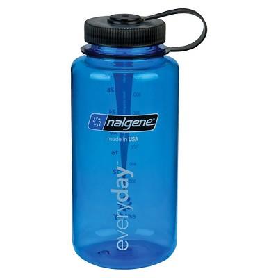 Nalgene Water Bottle Wide Mouth 32 oz - Blue