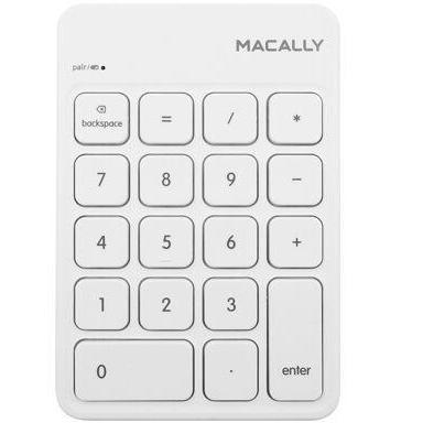 Macally Wireless Bluetooth 18 Numeric Keypad