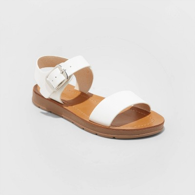 Girls' Kamila Buckle Ankle Strap Sandals - Cat & Jack™