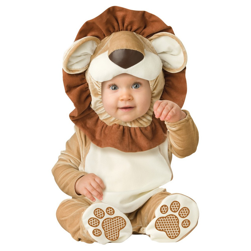 Image of Halloween Toddler Lovable Lion Costume 12-18 Months, Adult Unisex, Size: 12-18M, MultiColored