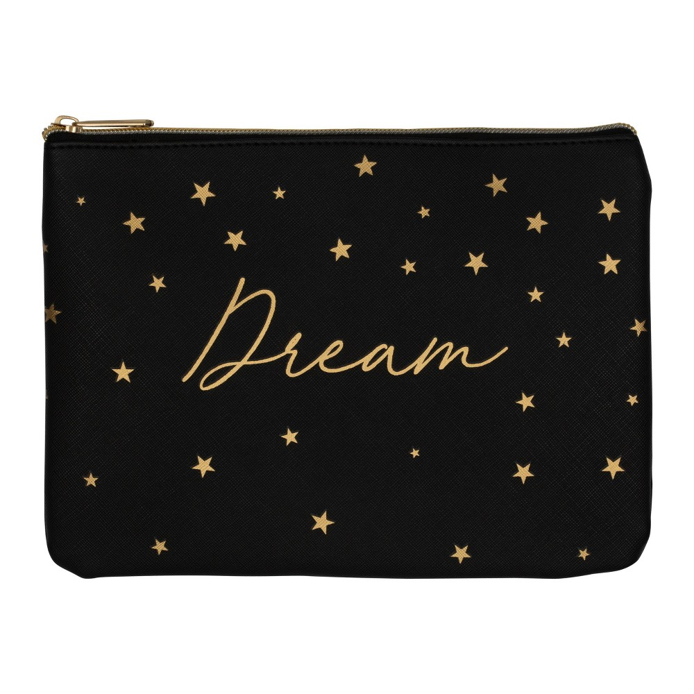 Image of Ruby+Cash Faux Leather Makeup Bag & Organizer Dream - Scattered Stars