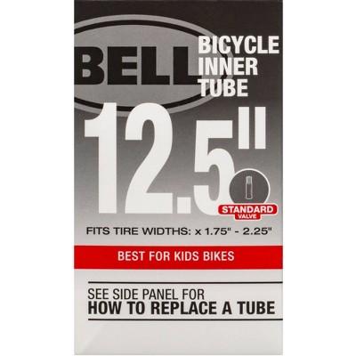 """Bell 12.5"""" Bike Tire Tube - Black"""