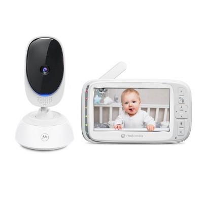 """Motorola 5"""" Video Baby Monitor w/PTZ - VM75"""