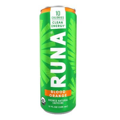 Runa Zero Blood Orange Energy Drink - 12 fl oz Can