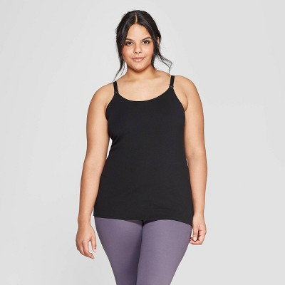 Women's Nursing Cami - Auden™ Black M