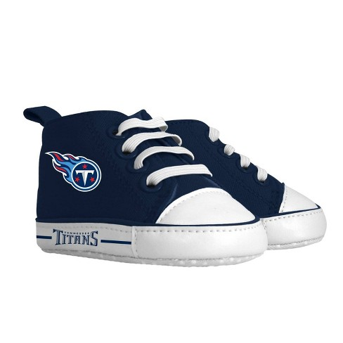 NFL Tennessee Titans Baby High Top Sneakers - 0-6M - image 1 of 1
