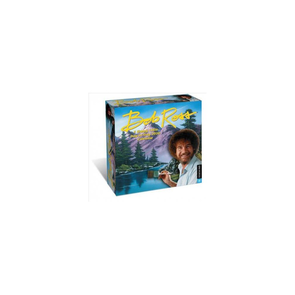 Bob Ross - a Happy Little Day-to-day 2020 Calendar - (Paperback)