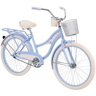 "Huffy Women's Deluxe 24"" Cruiser Bike - Periwinkle Blue"