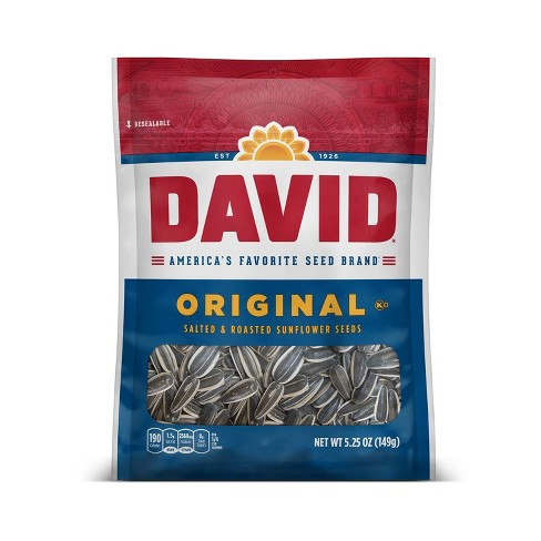 David Seeds Sunflower Seeds - 5.25oz - image 1 of 4