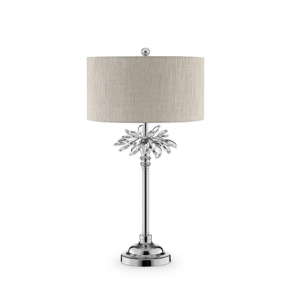 Ayana Table Lamp Silver (Lamp Only) - Ore International