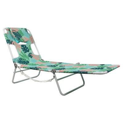 Facedown Beach Lounger - Tropical