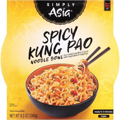 Simply Vegan Asia Spicy Kung Pao Noodle Bowl - 8.5oz