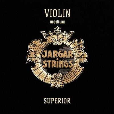 Jargar Superior Series Synthetic Violin String Set 4/4 Size, Medium