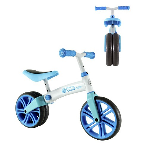 "Yvolution Y Velo Jr. 9"" Double Wheel Balance Bike - image 1 of 3"