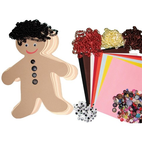 Hygloss Diverse Multi-Ethnic People Kit, 16 Inches, pk of 24 - image 1 of 1