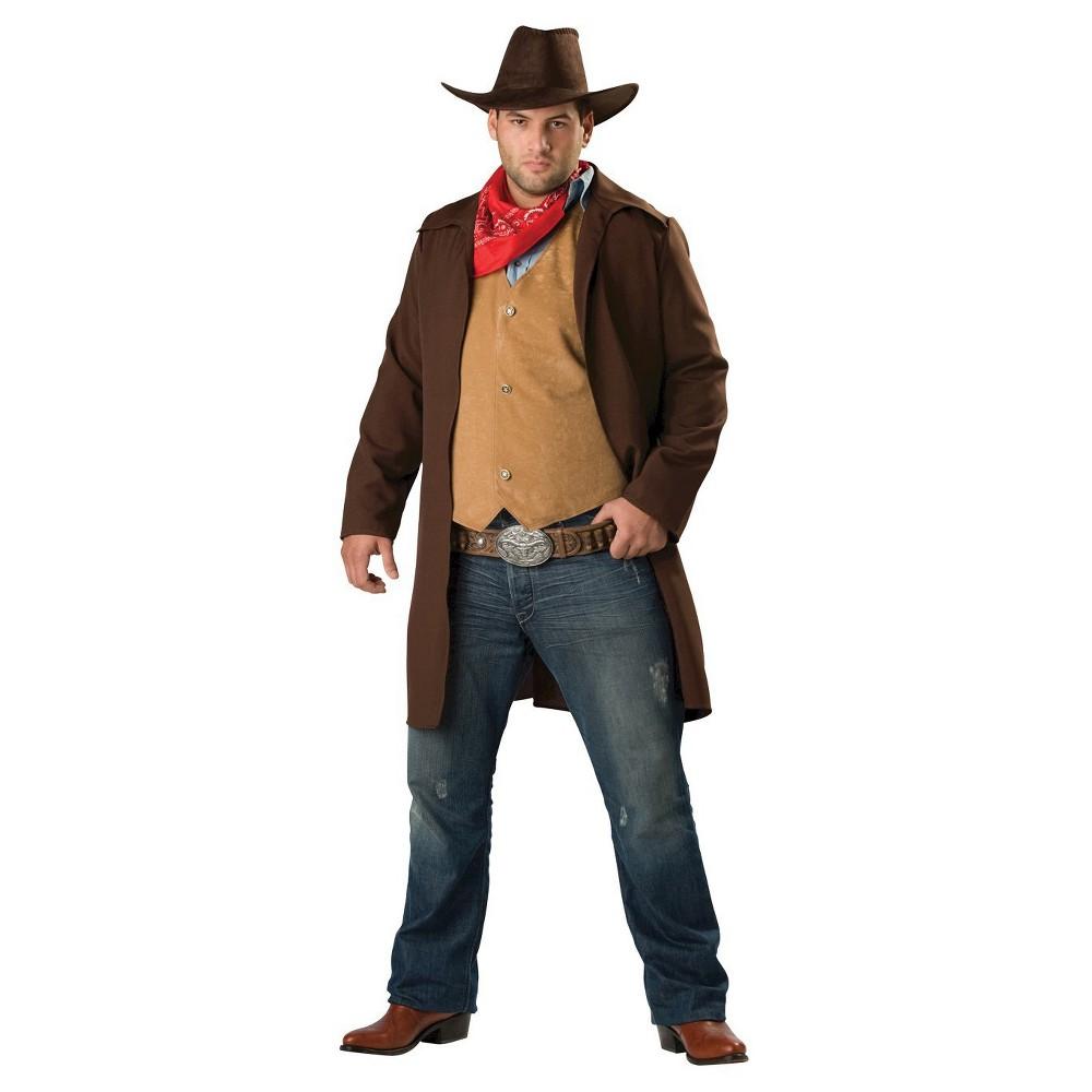 Image of Halloween Men's Rawhide Renegade Costume X-Large, MultiColored