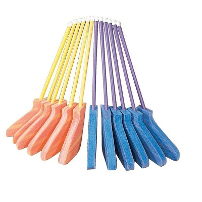 Pull-Buoy Ethafoam Blade Hockey Stick Set, 36 Inches, 12 pc