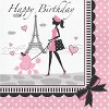 Party in Paris Birthday Party Supplies Kit - image 4 of 4