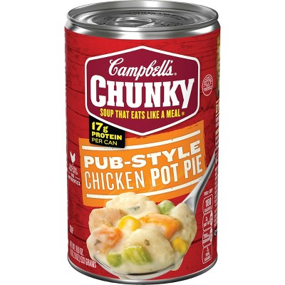 Campbell's Chunky Pub-Style Chicken Pot Pie Soup 18.8oz