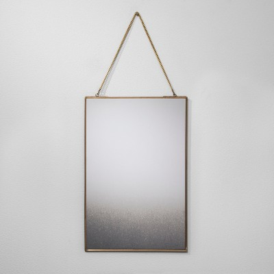 12 x18  Distressed Brass Wall Mirror - Hearth & Hand™ with Magnolia