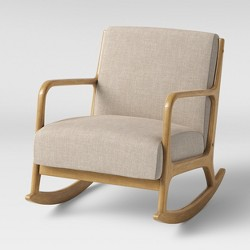 Awe Inspiring Esters Wood Arm Chair Sherpa White Project 62 Target Evergreenethics Interior Chair Design Evergreenethicsorg
