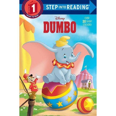 Dumbo Deluxe Step Into Reading (Disney Dumbo) - by  Christy Webster (Paperback)