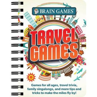 Brain Games Mini - Travel Games - (Spiral Bound)