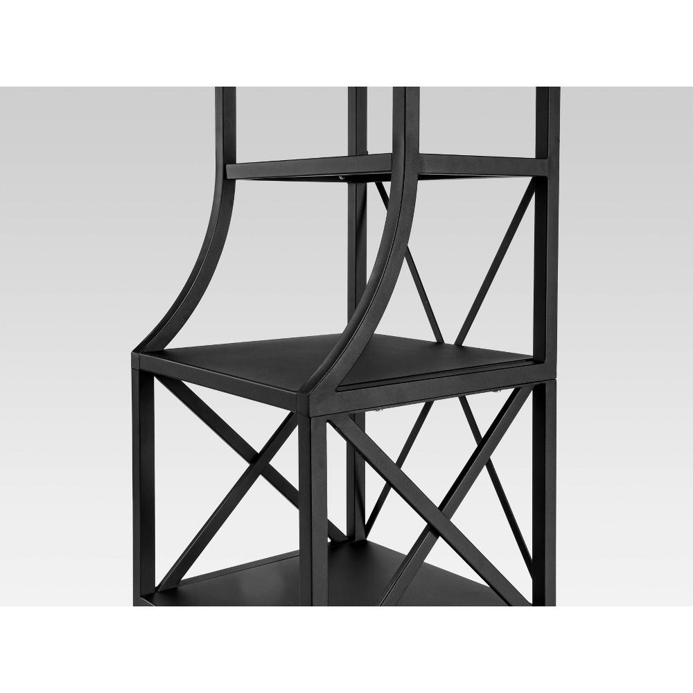 Image of Fairmont Linen Tower Black - Threshold