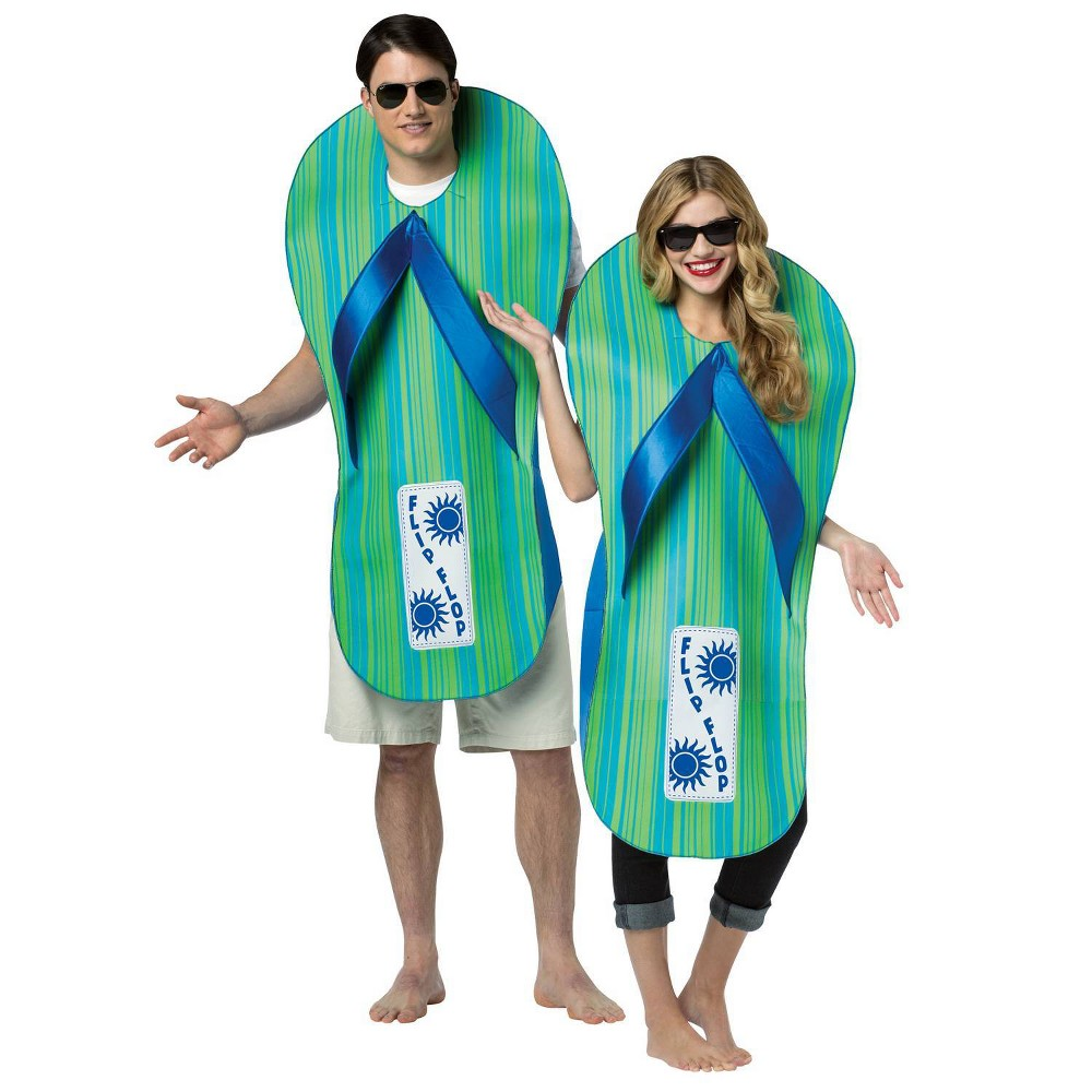 Image of Halloween Adult Morris Apparel Sandal Full Body Costume, Adult Unisex, Size: One Size, MultiColored