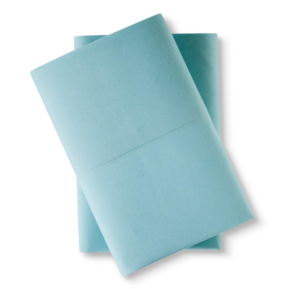 King Microfiber Pillowcase Set Aqua - Room Essentials Best