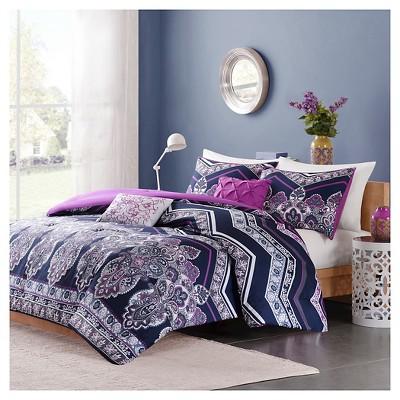 Blakely Comforter Set - Purple