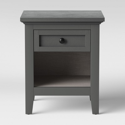 Carson End Table Gray - Threshold™
