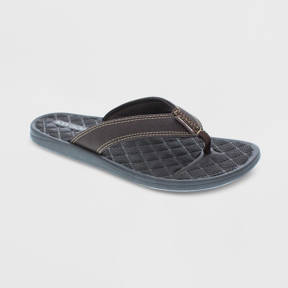 Men's Body Glove Montego Flip Flop Sandals - Brown 10