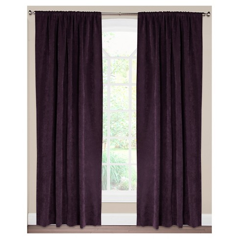 Siscovers Padma Aubergine Curtain Panel - image 1 of 1