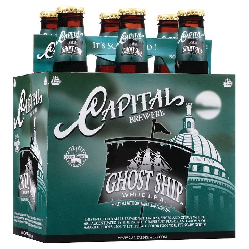 Capital® Ghost Ship White IPA - 6pk / 12oz Bottles - image 1 of 1
