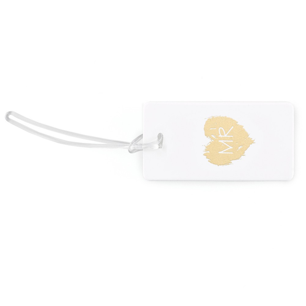 Mr.' Luggage Tags, White, Luggage Accessories