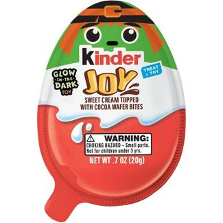 Kinder Joy Halloween Treat + Toy - 0.7oz (colors may vary)