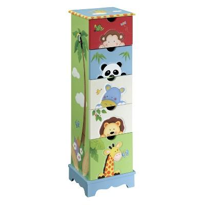 Teamson Sunny Safari 5 Drawer Cabinet