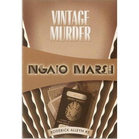 Vintage Murder - (Roderick Alleyn Mysteries) by  Ngaio Marsh (Paperback) - image 1 of 1