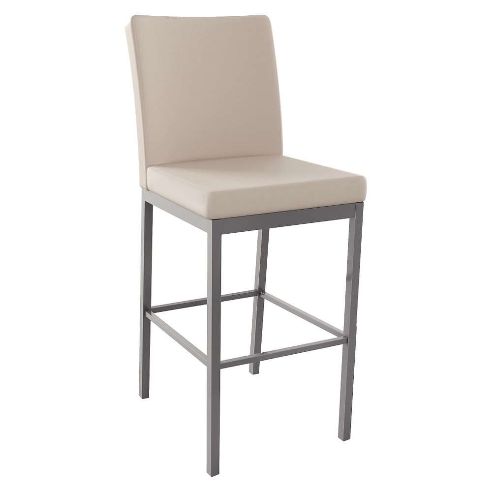 Amisco Metal Counter Stool - Gray