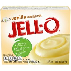 Jell-O Instant Vanilla Pudding & Pie Filling - 5.1oz
