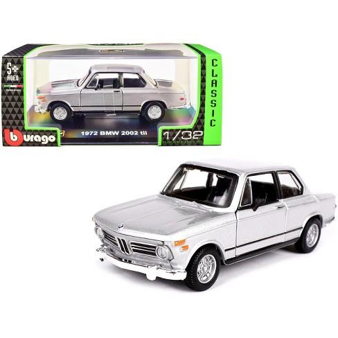 1972 Bmw 2002 Tii Silver Metallic Classic Series 1 32 Diecast Model Car By Bburago Target