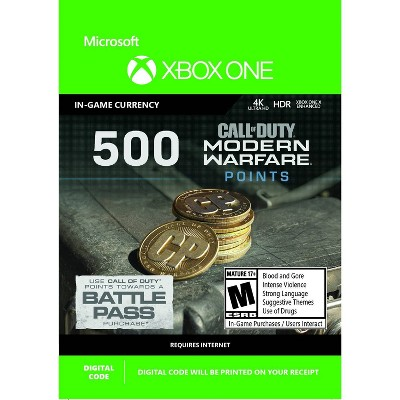 Call of Duty: Modern Warfare 500 Points - Xbox One (Digital)